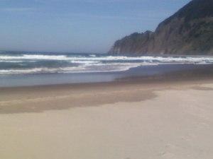 Beach where I love to walk